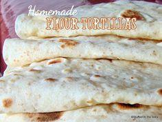 En peluche del Gill: tortillas de harina hechas en casa