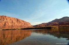 Lees Ferry is famous for being one of the best fishing spots in Arizona.