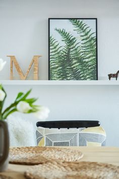 Bring the outdoors in by combining indoor plants with nature-inspired artwork | #IKEAIDEAS