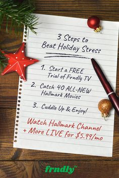 Watch Countdown to Christmas + more on Hallmark Channel. Enjoy 12 family-friendly channels with no contracts and easy cancellation. Disney Christmas Decorations, Christmas Games, Christmas Activities, Christmas Countdown, Christmas Traditions, Christmas Crafts, Merry Christmas, Holiday Stress, Holiday Fun