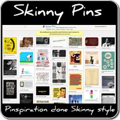 Skinny Pins - Words and Images that Inspire Us to Live Our Art! 0 learn how to protect your online images by shrink wrapping