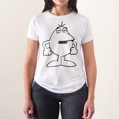 Hombre blanco Pantera rosa - LolaCamisetas - Tienda de camisetas originales y divertidas