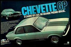 Anúncio Chevette GP - 1976