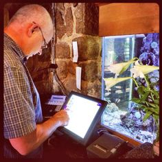 Piloting our new system, Ideal Point of Sale, at The Codfather restaurant Morningside. #IdealPOS