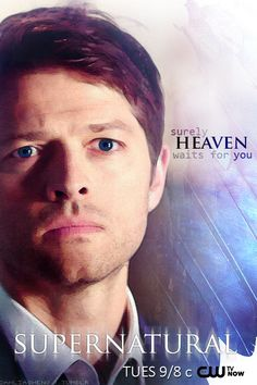 Castiel Season 10 Fan made poster by Dahliasheng on Tumblr