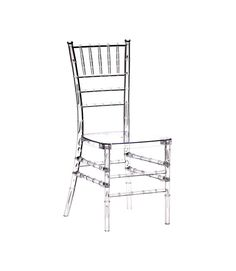Charming Polycarbonate Crystal Clear Chiavari Chair (Set Of 4)