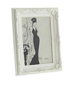 Bilderrahmen Barock, creme, 13 x 18 cm  5€