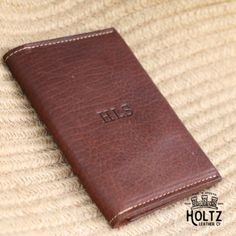 #custom # #gift #design by #holtzleather #podart -  The Pioneer Fine Leather Passport Wallet is a unique and timeless item! It is handmade right here in our shop with the finest of Full Grain American leathers. We hand–pick our leather hides from a local tannery for a rustic look and feel. This is a gift that will be used and loved for a lifetime! It's perfect for the executive, professional, father, or dear friend in your life.