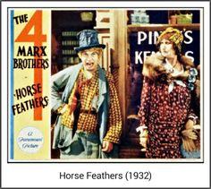 Horse Feathers Lobby Card (1932)