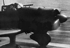 aichi type 99 val dive bomber leaving his aircraft carrier (january 1942)