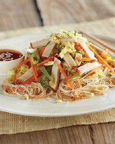 Low FODMAP Recipe and Gluten Free Recipe - Asian turkey salad http://www.ibssano.com/low_fodmap_recipe_asian_turkey_salad.html