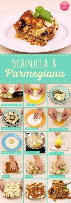Aprenda a fazer berinjela à parmegiana