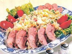 vcielkaisr-mojerecepty: Varené údené mäso so šalátom Tuna, Fish, Meat, Pisces, Atlantic Bluefin Tuna
