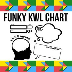 A free funky KWL graphic organiser.