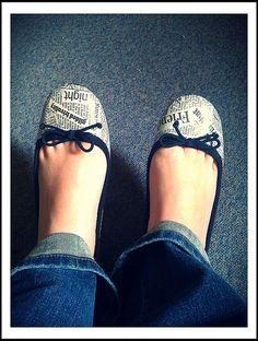 mod podge shoes!