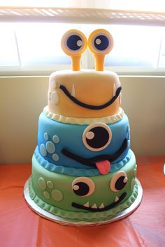 Monster party cake - Birthday Party