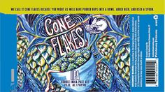 mybeerbuzz.com - Bringing Good Beers & Good People Together...: Firefly Hollow Brewing - Cone Flakes IIPA Cans