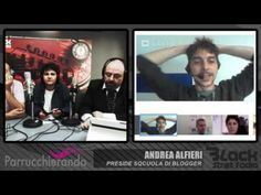 Parrucchierando con... Andrea Alfieri, preside sQcuola di Blogger