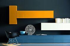 Obývací stěny - Designový nábytek http://JESPEN.cz