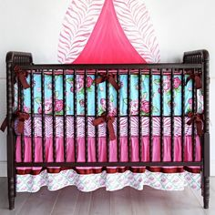 Precious Crib Bedding