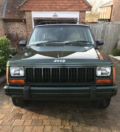 Cherokee Sport, Jeep Cherokee Xj, Jeep Xj, My Dream Car, Dream Cars, Old Jeep, Car Colors, Vroom Vroom, Wheels