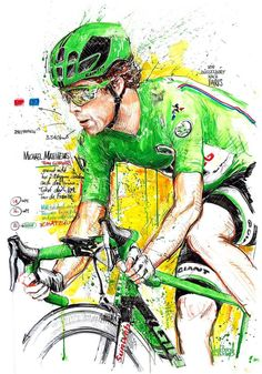 Michael Matthews wins Green Jersey TDF 2017 by Horst Brozy