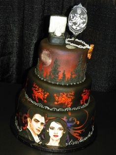 Twilight Saga Showpiece Cake