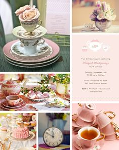 Tea Party Baby Shower Inspiration