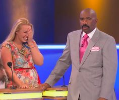 Family Feud with Steve Harvey - Let's see what you come up with!