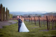Beautiful vineyard scenery at Casa Real (www.casarealevents.com).  Photo by Simplytwo Photography.