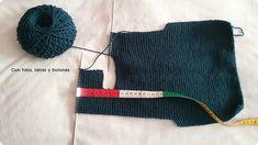 Con hilos, lanas y botones: DIY jersey con capucha para bebé paso a paso (patrón gratis)