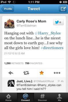 Twitter / regi_1Derland: @1DFAQ please credit. Carly's mum