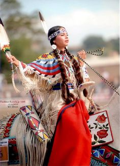 Latonia Andy -The Pendleton Round-Up, part of the Happy Canyon Indian Pageant and Wild West Show