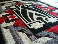 Addicted To Quilts: Art Deco Quilt