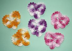 🌺 Flor de Crochê Receita Amor - Perfeito Pétalas -   /  🌺 Crocheting Flower Recipe Love - Perfect  Petals -