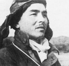 Hiroyoshi Nishizawa at Lae, New Guinea, in 1942. Usually considered the top Japanese ace, Navy or Army. A definitive total will probably never be determined. Nishizawa died while flying as a passenger in a transport headed for the Philippines in October 1944 -Pin it by GUSTAVO BUESO-JACQUIER
