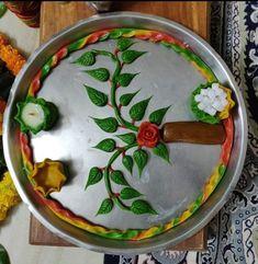Flower Diy, Diy Flowers, Arti Thali Decoration, Bal Gopal, Ritika Singh, Diy Diwali Decorations, Diwali Diy, Vedic Mantras, Diy Home Crafts