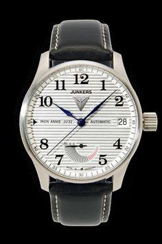 Iron Annie JU52 Chronometer Sternwarte Glashütte 6662-1 - Junkers