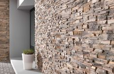 Decostones offers an extensive range of stone and brick cladding, panels, tiles and more. Brick Cladding, Cladding Panels, Wall Cladding, Natural Stone Cladding, Stone Panels, Stone Veneer, Terrazzo, Brick Wall, Houses