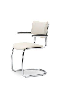 Gispen chair GS2001, Dutch Design, from gebroeders van der Stroom Culemborg, Dutch Originals