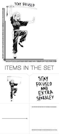 """Stay Focused"" by carebear-chan ❤ liked on Polyvore featuring art, anime, bokunoheroacademia, bnha, Myheroacademia and OchacoUraraka"