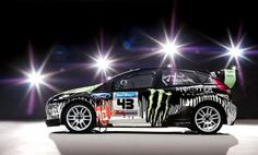 Ford New Fiesta Rally -  Ken Block
