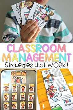 Positive classroom management tools for the primary classroom that your class will respond to and enjoy using daily! Your class will love the classroom jobs, transitions, reward coupons, schedule cards, brain breaks, fast finishers, awards, and rules. #classroommanagement #classroomjobs #brainbreaks #fastfinishers #rewardsforkids
