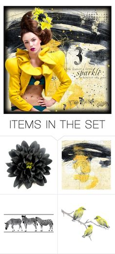 """""""She Leaves A Little Sparkle Wherever She Goes"""" by harrietthad ❤ liked on Polyvore featuring art and sparkle"""
