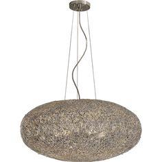 Salon Aluminum Six Light Large Oval Pendant Trend Globe Pendant Lighting Ceiling Lighting
