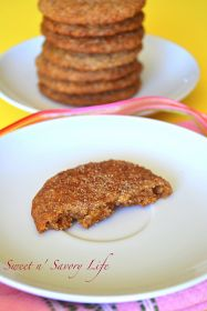 Sweet n' Savory Life: Snickerdoodles {Egg, Gluten, Dairy, & Soy Free}