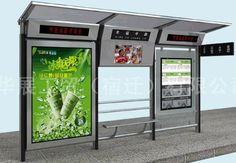 Modern Bus Stop Design Top design metal bus shelter