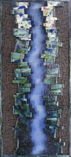 Glimpse  by Kelley Knickerbocker Can't wait to take a class with her at Maverick Mosaics this fall.