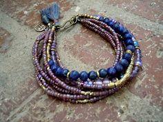 Bohème Bracelet / Bracelet Gypsy / Boho bijoux / par Syrena56