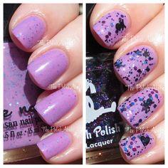 Dollish Polish & Jindie Nails Romeo & Juliet Duo Swatches via @Glamorable!!